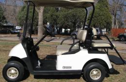 4 Passenger Gas Golf Car Rental