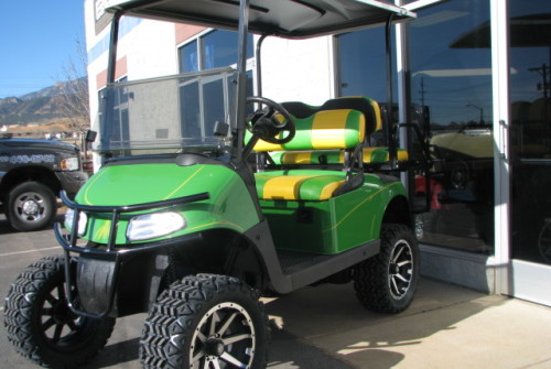Custom John Deere Golf Cart