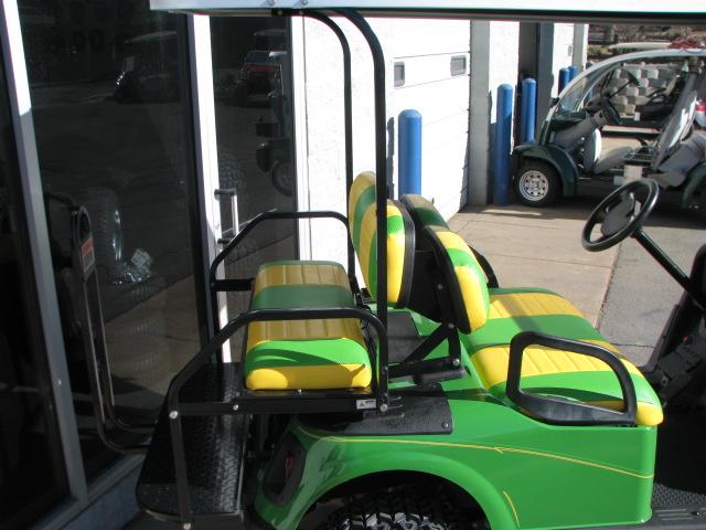 Custom John Deere Golf Cart