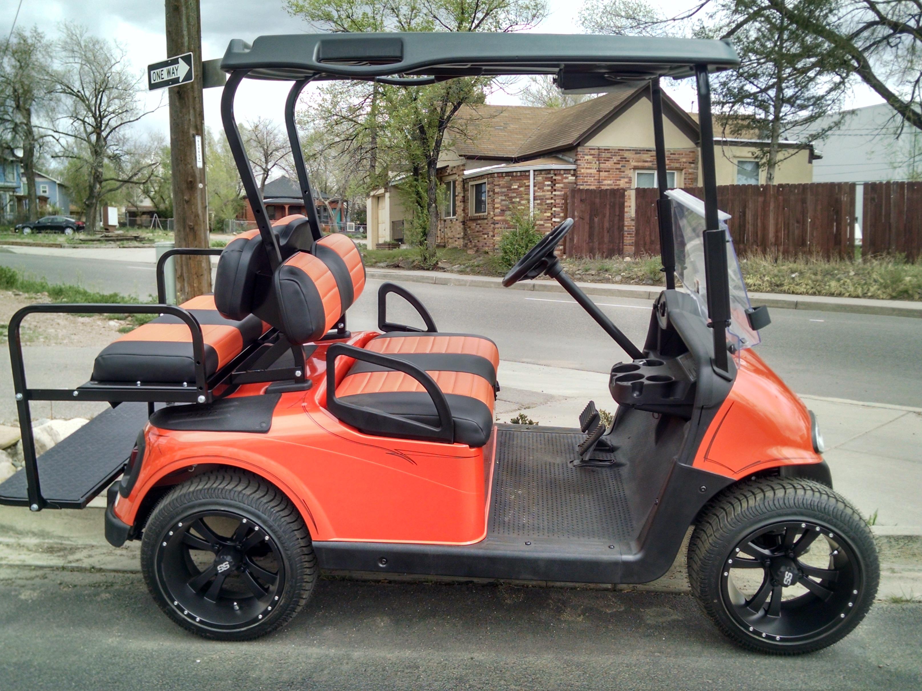 Yamaha Gas Golf Cart Lowering Kit