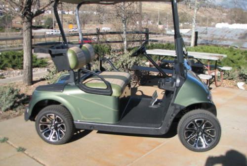2012 E-Z GO RXV OASIS GREEN