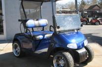 2009 E-Z GO RXV INDIGO BLUE