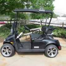 2016 E-Z-GO RXV CARBON FLASH METALLIC BLACK