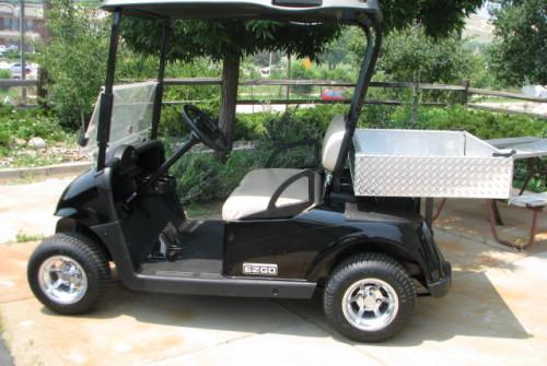 2009 E-Z-GO RXV BLACK