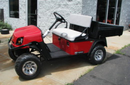 2016 CUSHMAN HAULER 800 FLAME RED
