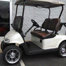 Cadillac Pearl White Custom | Master Quality Carts is Southern ... on lincoln on a rail cart, 2013 ezgo txt, 2013 ezgo electric golf cart,